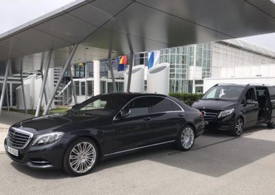 Limousine Flughafen München